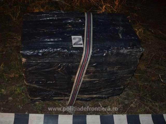 FOTO: SIGHET și BRODINA - Țigări în valoare de peste 52.000 lei, confiscate de către polițiștii de frontieră