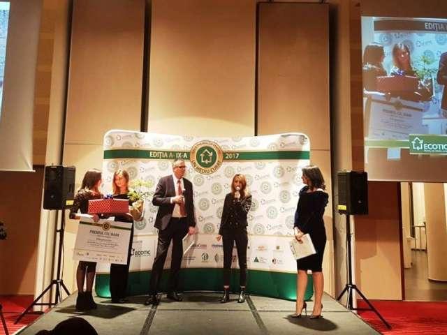 """Primăria Municipiului Baia Mare în parteneriat cu Garda Ecologică Baia Mare au obținut Marele Premiu cu proiectul """"Baia Mare curată!"""""""