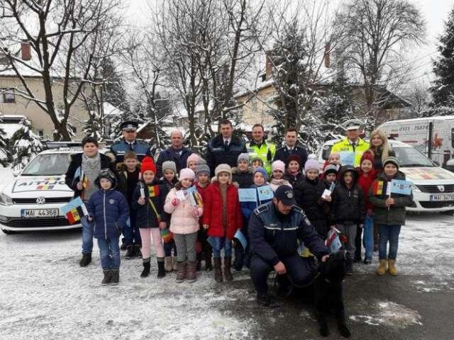 FOTO: Ziua Poliție Române, sărbătorită la Sighet
