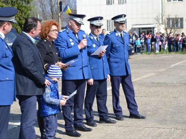"""""""ZIUA PORŢILOR DESCHISE"""" Inspectoratul de Jandarmi al județului Maramureș"""