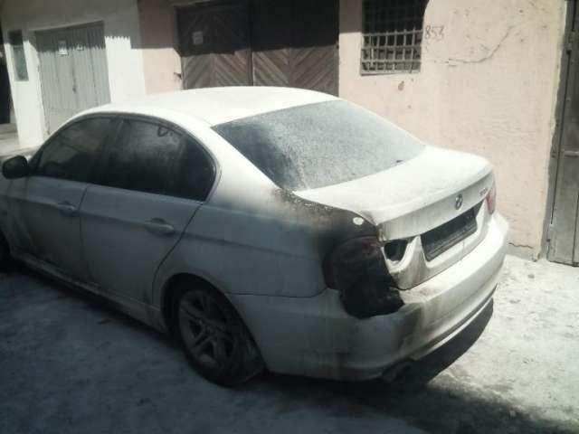 Autoturismul unui lucrător vamal din Sighet a fost incendiat