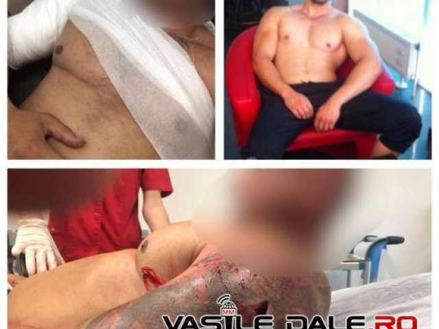 FOTO - Tânăr înjunghiat într-un club din Baia Mare. Poliţiştii îl caută şi la această oră pe agresor