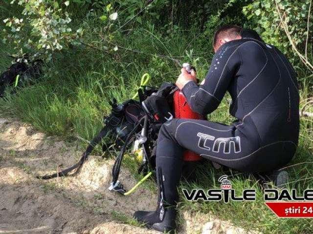 FOTO&VIDEO - Un băiat de 14 ani, suspect în cazul crimei de la Cuprom, s-a înecat în râul Lăpuș