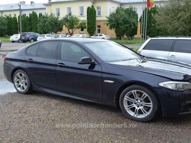 Autoturism BMW, furat din Marea Britanie, descoperit în Sighetu Marmației