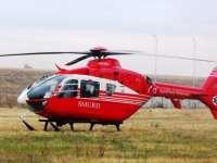 Sighetean în comă transportat de urgenţă la Cluj cu elicopterul SMURD