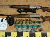 SIGHETU MARMAŢIEI: Arme de vânătoare, recuperate de poliţişti