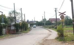 SIGHETU MARMAŢIEI:  Gropi la nivelul de trecere de cale ferată