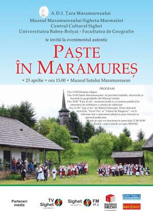 """Sighetu Marmaţiei: """"Paşte în Maramureş"""" la Muzeul Satului"""