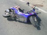Sighetu Marmaţiei - Un mopedist a fost transportat la spital pentru acordarea de îngrijiri medicale după ce a căzut