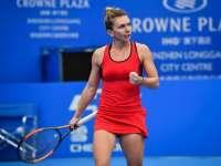 Simona Halep a câștigat finala de la Shenzhen