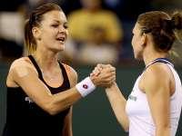 Simona Halep a fost învinsă de Radwanska și eliminată de la Turneul Campioanelor