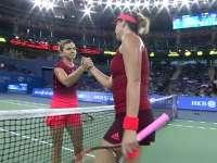 Simona Halep a învins-o pentru a șasea oară pe Pavlyucenkova