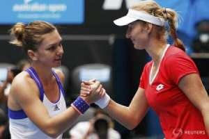 Simona Halep s-a oprit în sferturile turneului Australian Open