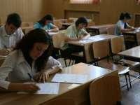 Simularea examenului de Bacalaureat începe luni