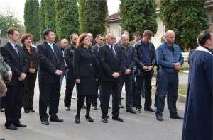 Slujbă de comemorare a poliţiştilor maramureşeni decedaţi