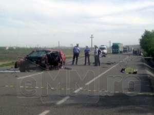 Șofer maramureșean mort într-un accident rutier pe DN 1C, lângă Bonțida