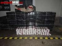Șofer ucrainean, urmărit de polțiști prin Baia Sprie. 376.000 de țigarete confiscate