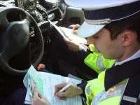 Șoferi amendați și permise de conducere reținute ieri de polițiștii maramureșeni