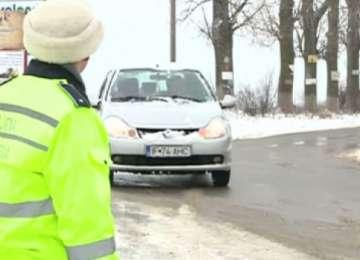 Șoferi sancționați de polițiștii maramureșeni pentru că au pus în pericol siguranța pietonilor