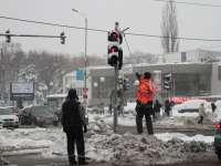 Șoferii care nu au respectat culoarea roșie a semaforului au rămas fără permis de conducere