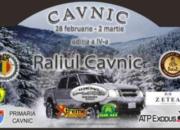 Spectacol automobilistic la Raliul Cavnic, în perioada 28 februarie - 2 martie