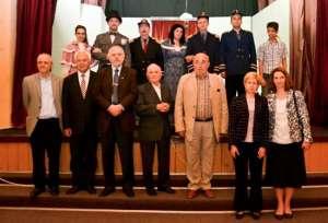 Spectatori din Bucureşti, Cluj și Baia Mare la reprezentația piesei O NOAPTE FURTUNOASĂ de IL Caragiale