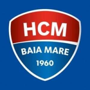 Standuri cu materiale promoţionale, cu prilejul meciului dintre HCM şi Györi Audi ETO KC