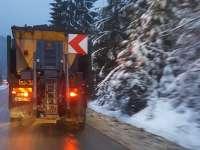 Starea drumurilor în județ la sosirea iernii