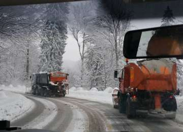 Starea vremii și a drumurilor în Maramureș pentru 13 februarie