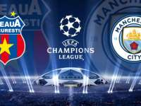 Steaua, învinsă de Manchester City cu 5-0