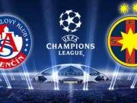 Steaua s-a calificat dramatic în turul al treilea preliminar al Ligii Campionilor, după 2-3 cu AS Trencin