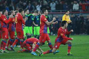 Steaua, ultima echipă calificată în optimile Cupei României-Timișoreana