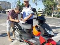 Strâmtura: Dosar penal pentru ca a condus un moped deşi nu deţine permis