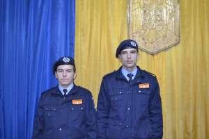 """Studenţi ai Academiei de Poliţie """"Alexandru Ioan Cuza"""" Bucureşti în practică la Jandarmeria Maramureş"""