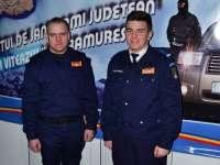 Studenţi în stagiu de practică la Jandarmeria Maramureş