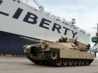 SUA au început desfășurarea brigăzii de tancuri ce va participa la operațiunea Atlantic Resolve în flancul estic al NATO