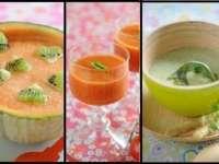 Supe pregătite la rece, perfecte pentru vară