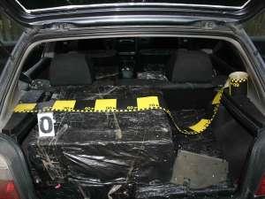 Suspect de contrabandă depistat de poliţiştii maramureşeni