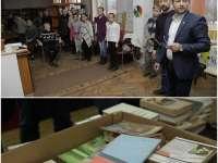 Sute de cărți oferite bibliotecilor și copiilor din zona rurală, din partea deputatului Adrian Todoran