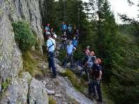 Tabără de pregătire comună a salvatorilor montani, organizată de jandarmii maramureşeni