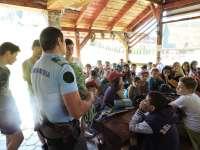 TABARĂ LA CAVNIC - Activităţi preventiv educative desfăşurate de jandarmii montani