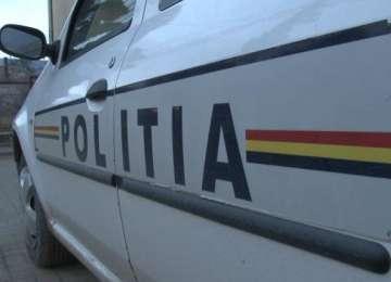 Tânăr scandalagiu, reţinut de poliţişti pentru tulburarea ordinii şi liniştii publice şi lovire