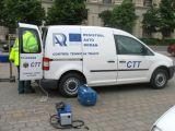 TÂRGU LĂPUȘ - Poliţiştii au acţionat împreună cu reprezentanții RAR pentru verificarea stării tehnice a autovehiculelor