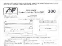 Termenul limită pentru declararea veniturilor din România (D200) și din străinătate - 27 mai
