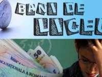 Termenul limită pentru depunerea cererilor pentru bani de liceu este 1 octombrie