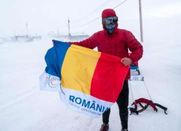 Tibi Uşeriu a câştigat pentru a treia oară consecutiv Ultramaratonul Arctic