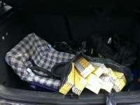 CRĂCIUNEȘTI: Țigări de contrabandă confiscate ieri de polițiștii de frontieră