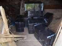 FOTO & VIDEO - Țigări de contrabandă în valoare de peste 95.000 lei, confiscate la frontiera de nord