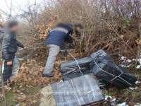 FOTO: ȚIGĂRI DE CONTRABANDĂ - Peste 18.000 pachete cu țigări confiscate la frontiera de nord