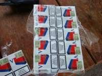 Țigări de contrabandă transportate cu autobuzul de către o femeie din Sighet